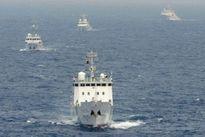 Trung Quốc lại đưa 4 tàu hải cảnh xâm phạm lãnh hải Nhật Bản