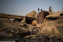 Xót xa cảnh đổ nát tại thành phố Mosul vừa được giải phóng khỏi IS