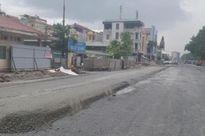 Nhà thầu lên tiếng vụ 'rải nhựa đường trong mưa' tại dự án vành đai 3 Hà Nội