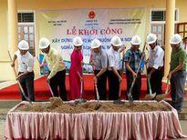 Nghĩa Đàn: Khởi công xây dựng phòng học điểm lẻ Trường mầm non Nghĩa Mai