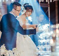Chuyện tình 8 năm và đám cưới 10 tỷ của cô gái Hà Nội
