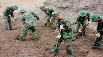 Tìm thấy 39 bộ hài cốt liệt sĩ ở chiến khu Tam Giác Sắt