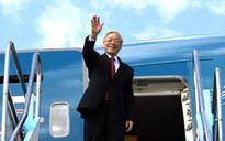Tổng Bí thư Nguyễn Phú Trọng lên đường thăm Campuchia