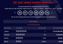 Vé trúng giải Jackpot gần 132 tỷ đồng bán tại Bà Rịa - Vũng Tàu