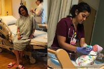 Vy Oanh sinh con thứ hai tại Mỹ với chồng đại gia giấu mặt