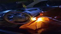 Người dân truy bắt 3 đối tượng dùng ô tô trộm chó trong đêm