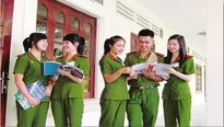 Học viện Cảnh sát nhân dân thông báo ngưỡng điểm đăng ký xét tuyển