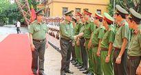 Bộ trưởng Tô Lâm thăm, làm việc tại Công an tỉnh Hà Nam