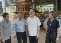 Bí thư TP.HCM Nguyễn Thiện Nhân khảo sát nhà máy điện rác Gò Cát
