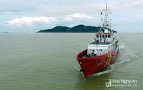 Tàu bị lật úp ở Nghệ An từng chìm ngoài biển Trường Sa