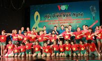 Tưng bừng hội diễn văn nghệ chào mừng Đại hội Đoàn thanh niên VOV