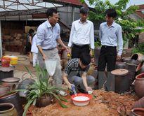 Cục Y tế dự phòng tăng cường phòng chống dịch bệnh sau mưa bão