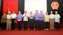 Họp mặt cán bộ hưu trí VKSNDTC tại Hà Nội nhân kỷ niệm 57 năm Ngày thành lập VKSND