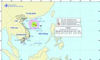 Áp thấp nhiệt đới trên biển Đông ngày càng mạnh lên
