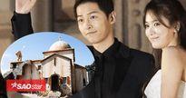 Song Joong Ki - Song Hye Kyo có thể tổ chức hôn lễ tại công viên chủ đề 'Hậu duệ mặt trời'