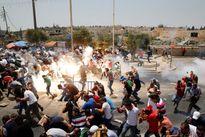 Chùm ảnh: Cảnh sát Israel và người biểu tình Palestine đụng độ đẫm máu