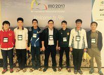 Việt Nam đạt 4 HCV, xếp thứ ba tại kỳ thi Olympic Toán quốc tế 2017
