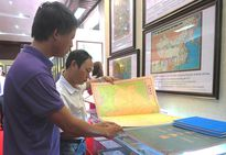 Trưng bày bản đồ Trung Quốc không có Hoàng Sa - Trường Sa