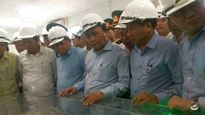 Thủ tướng kiểm tra việc bảo vệ môi trường tại nhà máy Formosa Hà Tĩnh