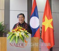 Giao lưu giữa hai Văn phòng Quốc hội Việt Nam và Lào