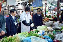 Bố trí kiểm tra nhanh thực phẩm tại các chợ, trung tâm thương mại