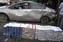 Xe chở thuốc lá lậu gây tai nạn chết người