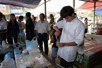 Tăng cường phương tiện kiểm tra nhanh thực phẩm ở chợ