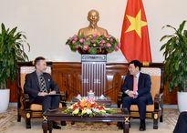 Phó Thủ tướng Phạm Bình Minh tiếp Đại sứ Cộng hòa Czech