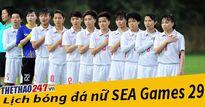 Công bố lịch thi đấu bóng đá SEA Games 29