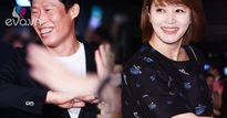 """Chia tay đã lâu, """"nữ hoàng gợi cảm"""" Kim Hye Soo vẫn đến ủng hộ tình cũ xấu trai"""