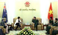 Việt Nam và Niu Di-lân tăng cường hợp tác quốc phòng song phương