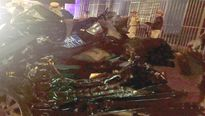 Bình Thuận: Xe tải tông xe con, 2 Công an tử vong