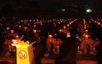 Hơn 3000 ngọn nến tri ân được thắp tại nghĩa trang liệt sĩ Hà Nội