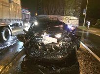 Ô tô của Công an Bình Thuận gặp nạn, phó phòng và một sĩ quan tử vong