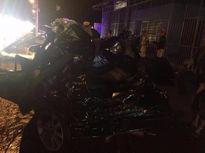 2 sĩ quan công an tử nạn trên xe Camry