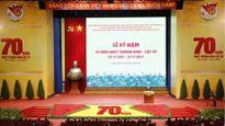 Mít-tinh trọng thể kỷ niệm 70 năm Ngày Thương binh, liệt sĩ
