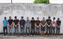 Ẩu đả trước tiệm cầm đồ, 22 đối tượng bị tạm giữ