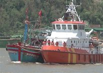 17 ngư dân tàu cá bị trôi dạt được cứu