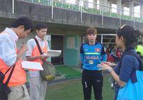 ĐT nữ Việt Nam thu hút sự chú ý của truyền thông Nhật Bản