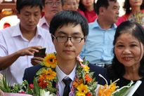Trường Quốc học Huế vinh danh học sinh đạt huy chương vàng Olympic sinh học