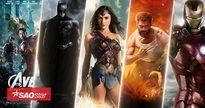 Những bộ phim siêu anh hùng hay nhất mọi thời đại theo xếp hạng từ Tomatoes