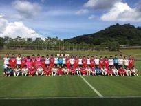 Đội tuyển nữ Việt Nam thắng trận đầu ở Nhật Bản