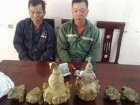 Nghệ An: Đóng giả công nhân làm đường, lừa bán đồ cổ giả