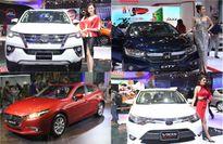 Những mẫu xe bán chạy nhất Việt Nam tháng 7/2017