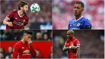12 ngôi sao vắng mặt ở vòng 1 Premier League 2017/2018: MU có 3 người