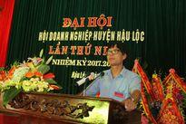 Thanh Hóa: UBND huyện Hậu Lộc tổ chức Đại hội Hội Doanh nghiệp lần thứ I