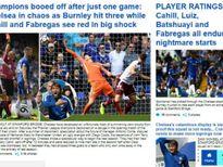 Chelsea thua sốc: 'Triệu fan' MU hả hê, báo chí khen Morata, mắng Conte