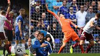 Bị đuổi 2 người, Chelsea thua sốc ngày ra quân!