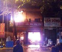 Quảng Trị: Cửa hàng điện máy cháy dữ dội, thiêu rụi nhiều tài sản giá trị