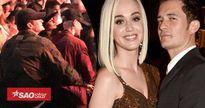 'Gương vỡ lại lành': Katy Perry và Orlando Bloom âu yếm hôn nhau chốn đông người